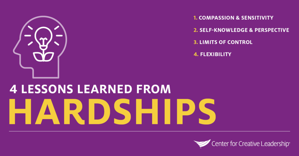 Infographic: 4 Lessons Learned From Hardships