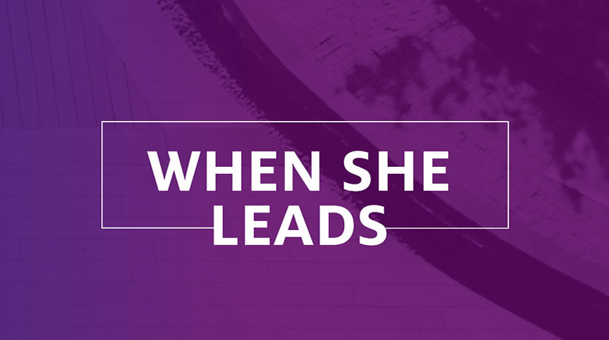 When she leads: Leadership podcasts on women in business by the Center for Creative Leadership